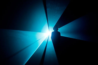 An encounter with You and I, Horizontal (2005) by Anthony McCall at the Hayward Gallery: