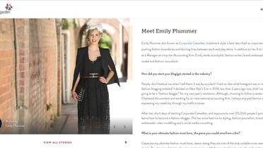 New resident fashion jounalist for Brisbane Marketing and Wintergarden Brisbane
