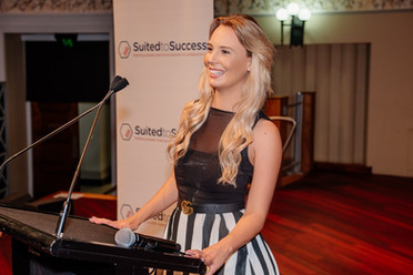 Why I've teamed up the 'Suited to Success' charity
