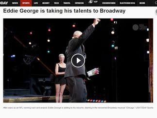 Eddie George is taking his talents to Broadway