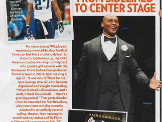 EDDIE GEORGE - FROM SIDELINED TO CENTER STAGE