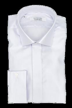 Camicia Cerimonia Grigia con polso gemelli