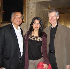 Shirish Korde; Zorana Sadiq, soprano; Richard Pittman, Conductor of Boston Musica Viva, 2011