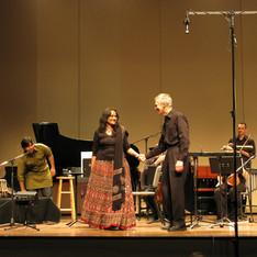 Deepti Navaratna, carnatic singer; Richard Pittman, Conductor; 'KA' Performance, Boston Musica Viva, 2011