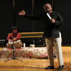 Aditya Kalyanpur and Shirish Korde, 'Hearing the Divine: A Concert of World Sacred Music,' College of the Holy Cross, Worcester, MA, 2009