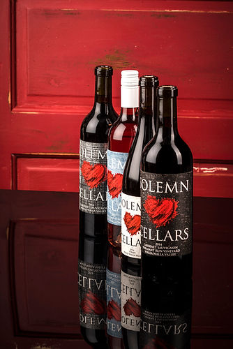 Solemn Cellars Tasting room