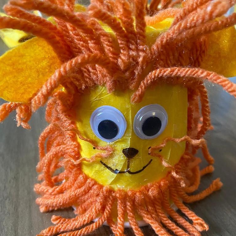 Children's Crafts: Create a Lion