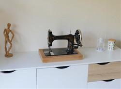 Décoration machine à coudre vintage