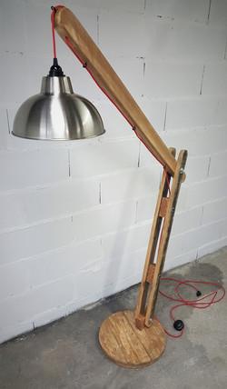 Lampe d'architecte palette