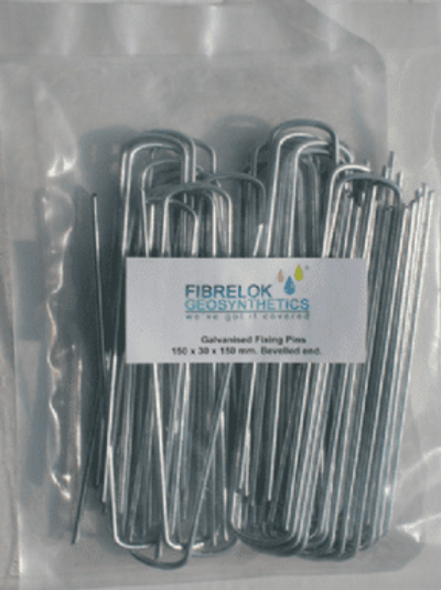 Galvanised Fixing Pins 150mm x 30mm x 150mm