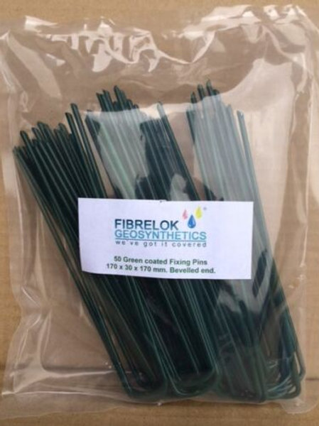 GREEN Galvanised Fixing Pins 170mm x 30mm x 170mm