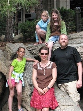 The Bow-Spo Family on Vacation in 2010
