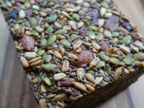 Nut and seed bread