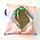 Thumbnail: Yougoshoego®️ shoe storage pouch with a diamond window