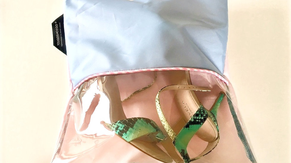 Yougoshoego®️ shoe storage pouch with a horizontal window