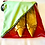 Thumbnail: Yougoshoego®️ shoe storage pouch with a diagonal window