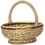 Thumbnail: Panier oval avec anse