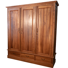 armoire 3 portes teck