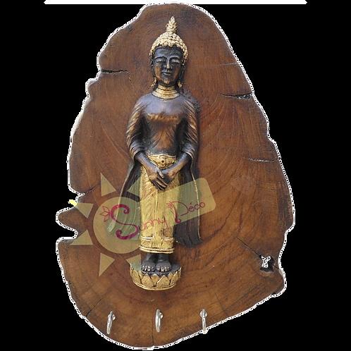 Support à clés motif Bouddha