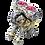 Thumbnail: Bougeoir éléphant 2 bougies