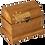 Thumbnail: Coffre rectangulaire, couvercle arrondi