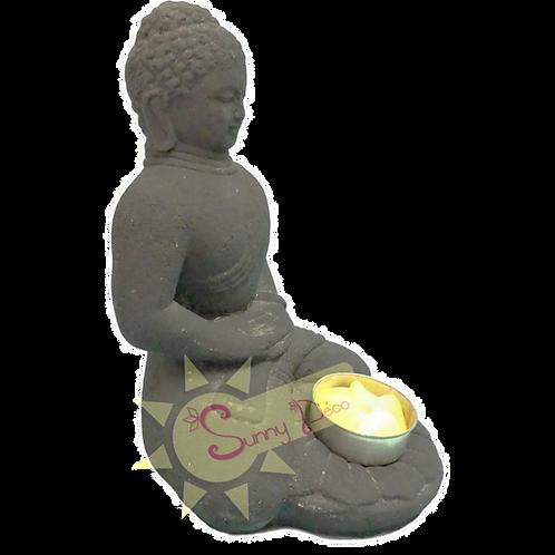 Bougeoir bouddha méditation