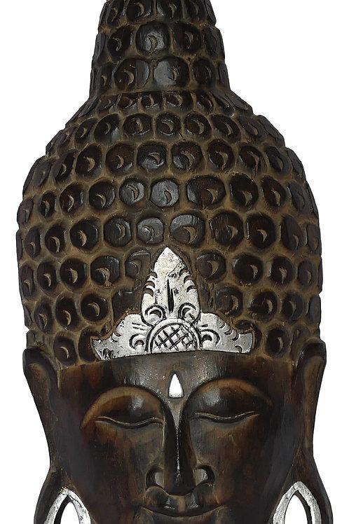Tête de bouddha longue