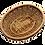 Thumbnail: Panier oval sans anse