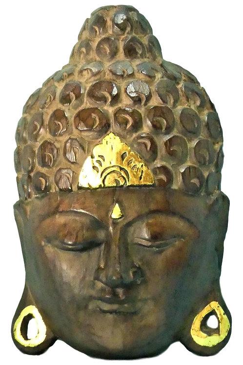 Tête de bouddha à accrocher