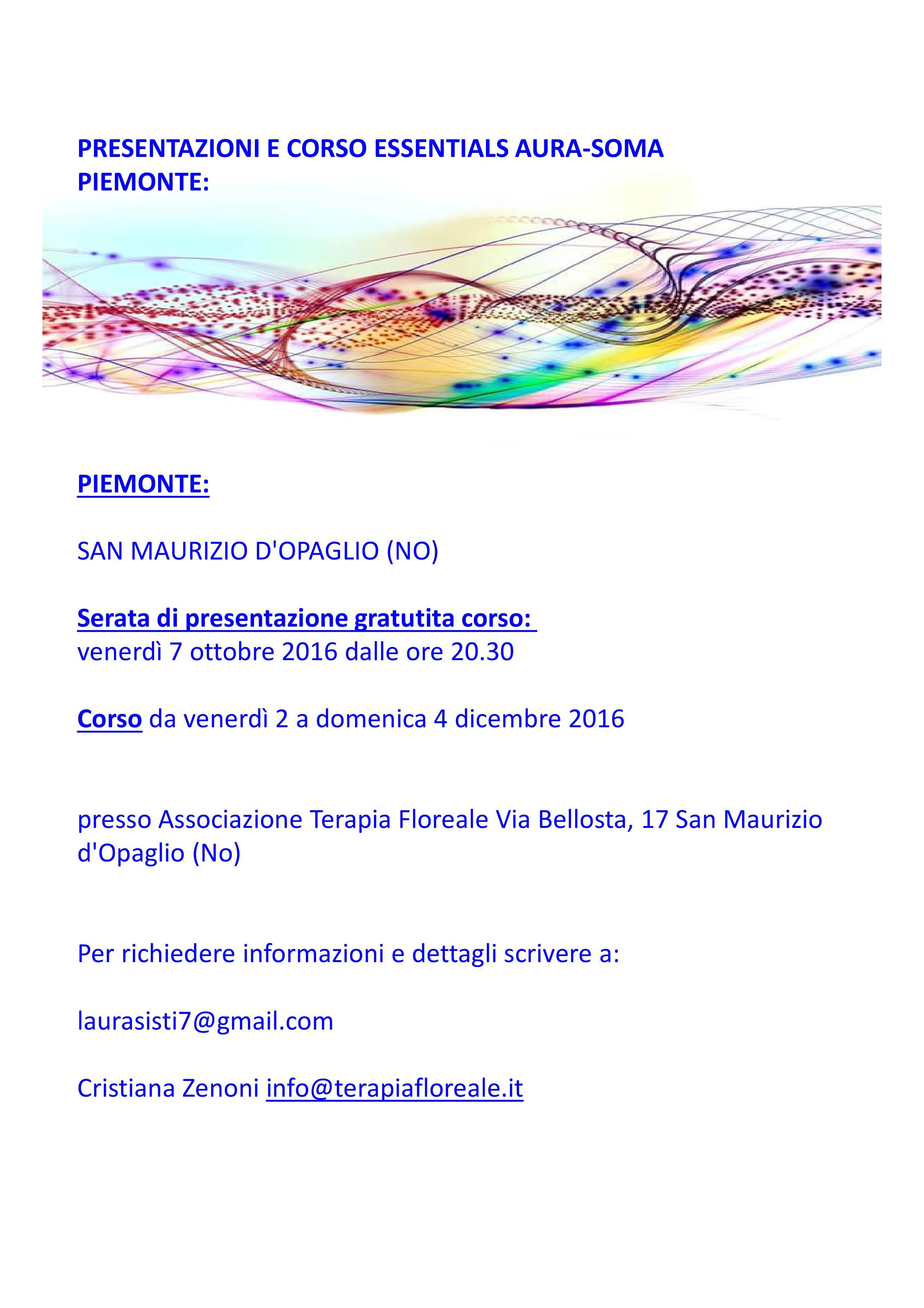 Piemonte date sito