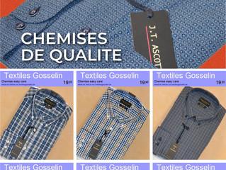 Nouvelles chemises hommes ...