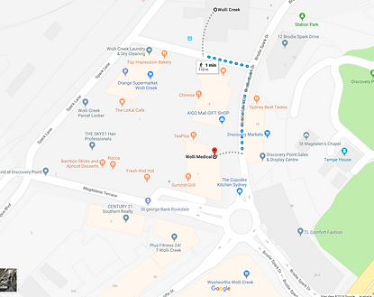 Wolli Medical Centre Location
