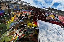 Glazen gevel Markthal R'dam in opbouw[10