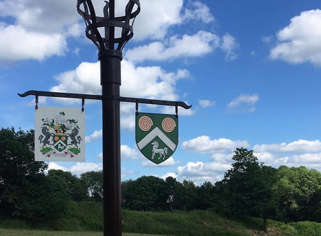 Crest Shield for Lord Harris of Peckham