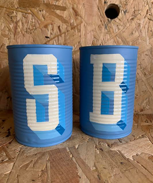 Commissioned Tin Letters