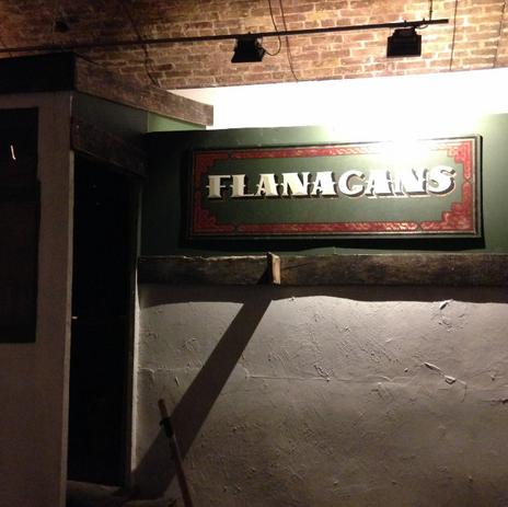 Flanagans Pub Sign