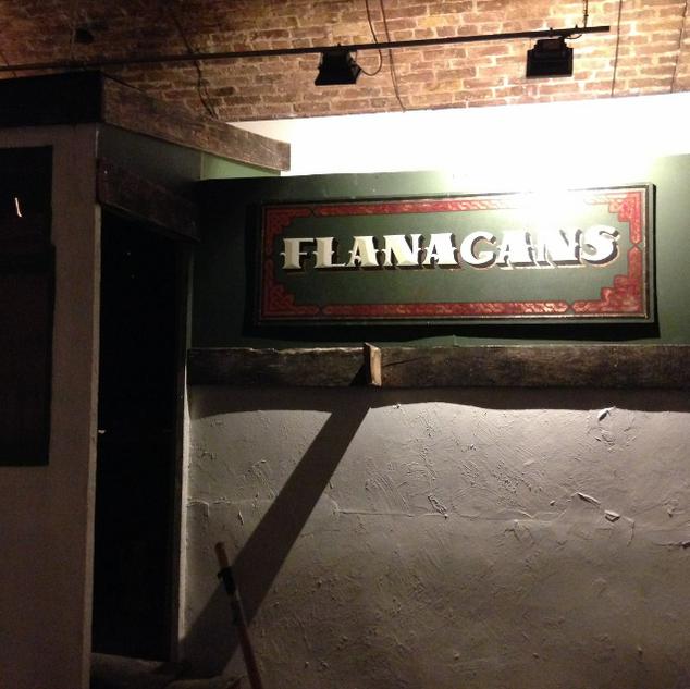 Flanagans Pub Sign