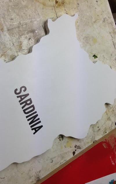 Sign writen presentation board