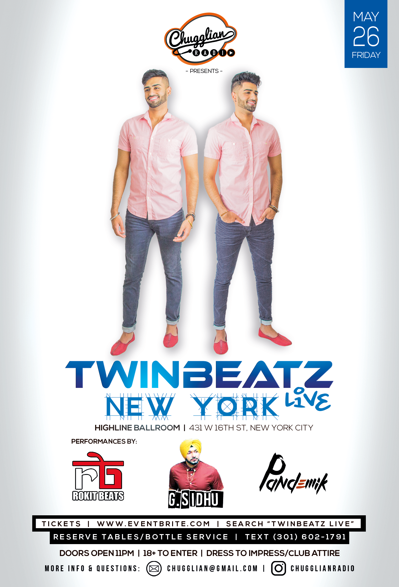 Twinbeatz Live at New York City