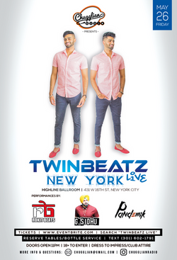 Twinbeatz Live at New York City