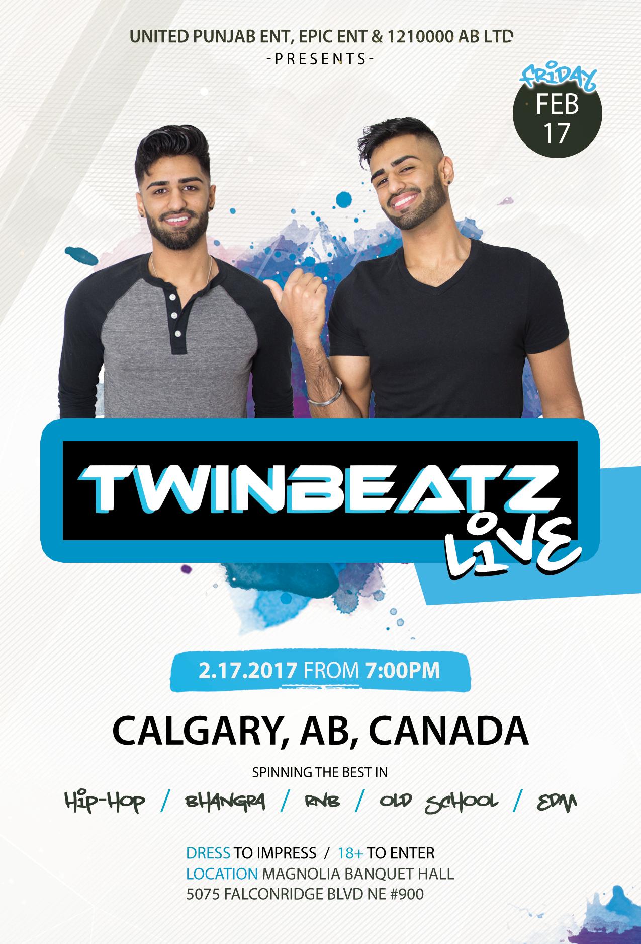 Twinbeatz Live at Calgary