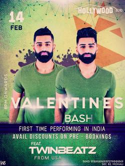 Valentines Bash Feat. Twinbeatz
