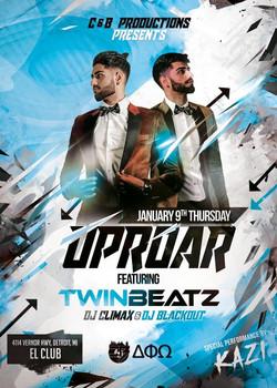 Uproar feat. Twinbeatz at Detroit