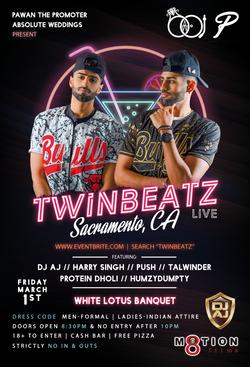 Twinbeatz Live 2k19 at Sacramento
