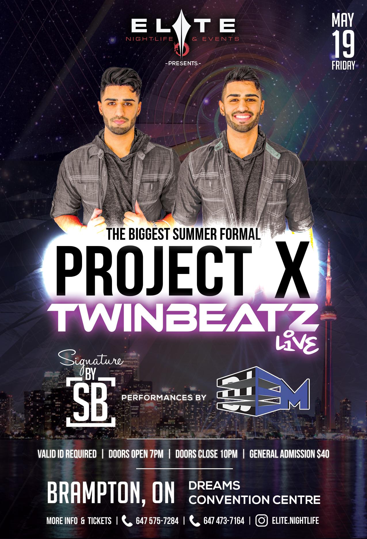 Twinbeatz Live at Toronto