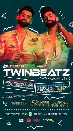 Twinbeatz at Birmingham & London