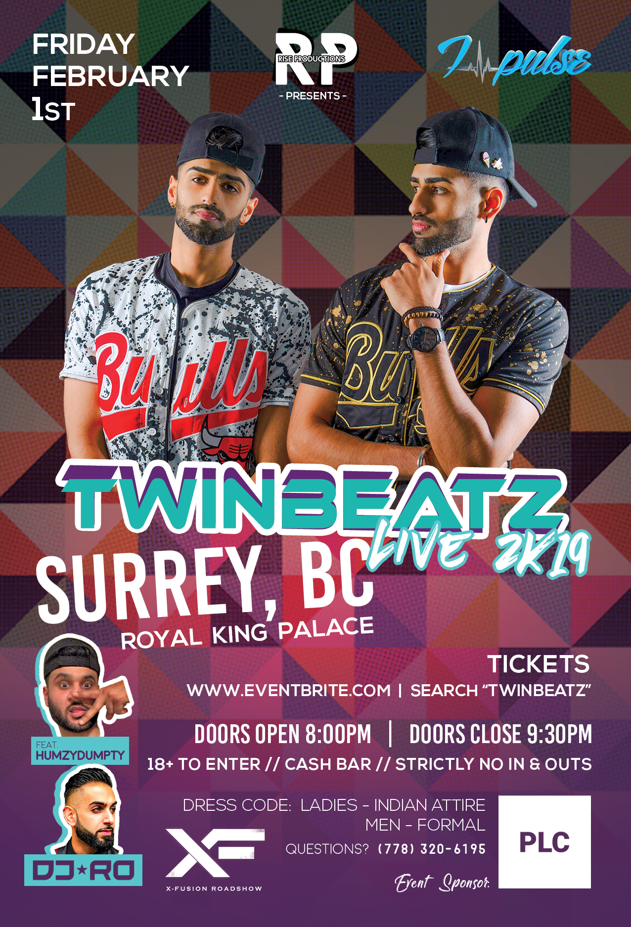 Twinbeatz Live 2k19 at Surrey, BC