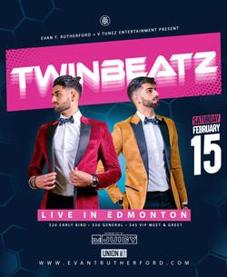 Twinbeatz Live in Edmonton 2k20