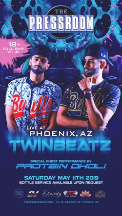 Twinbeatz Live at Phoenix, AZ