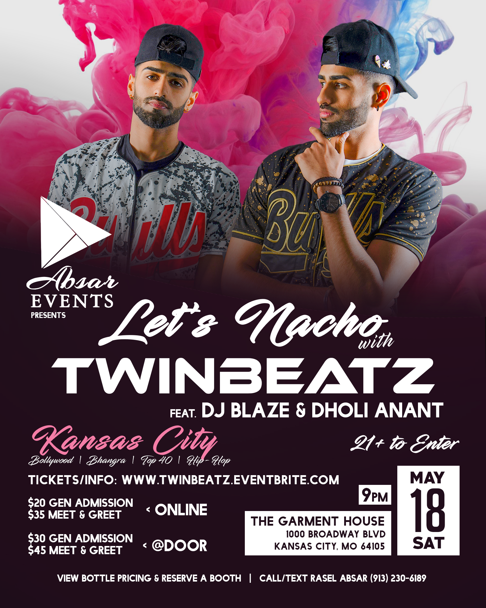 Twinbeatz Live at Kansas City 2019 - Abs